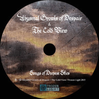 The Cold View - Funeral Doom - CD - Songs of Deepest Skies