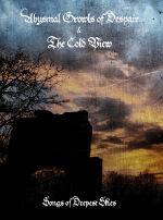 Drone Doom: The Cold View - Songs of Deepest Skies - Cover