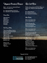 Lyrics - Funeral Doom - The Cold View - Songs of Deepest Skies