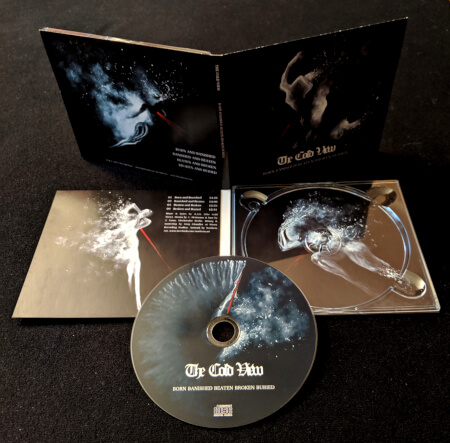 CD Digipak of The Cold View - Born Banished Beaten Broken Buried