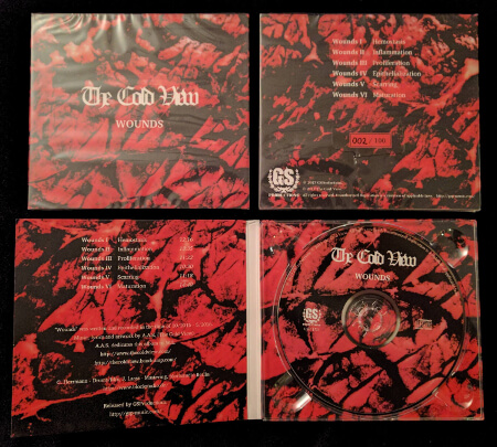 CD Digipak of The Cold View - Wounds